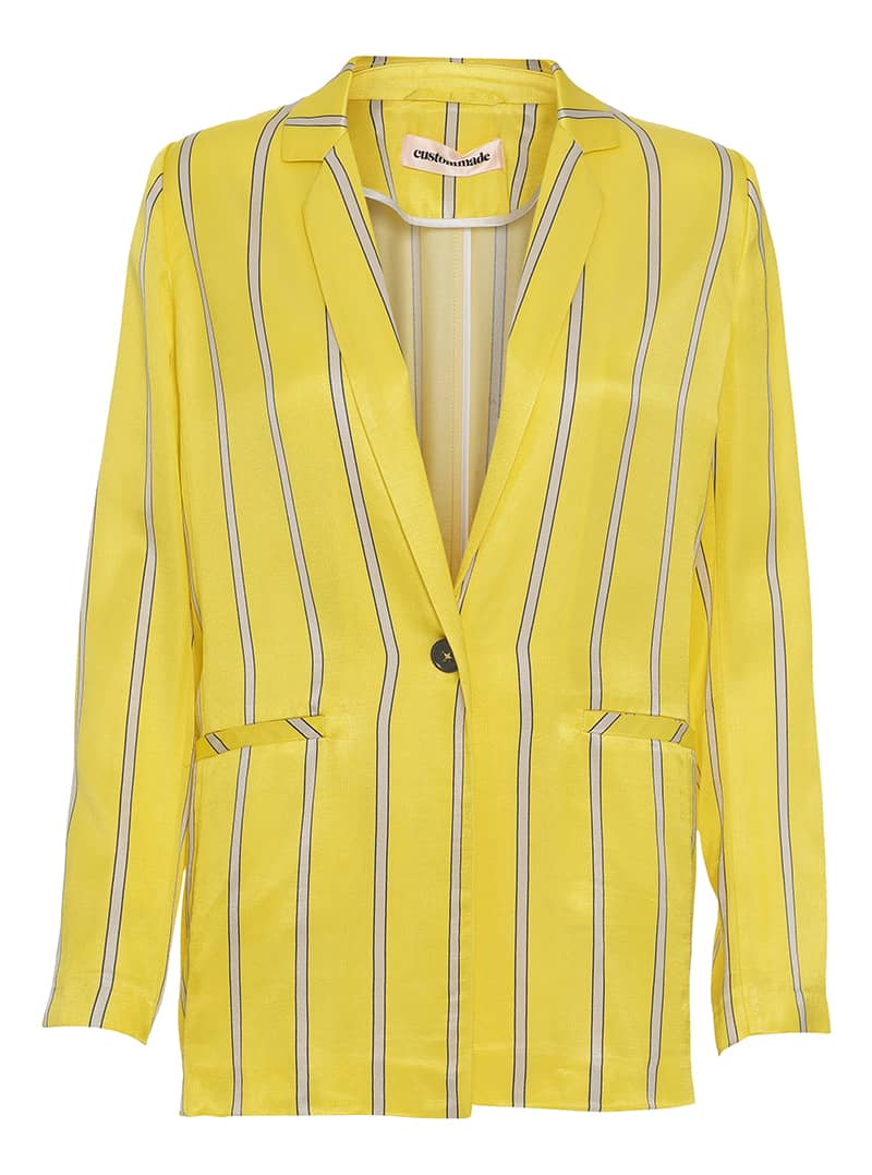 Custommade Yellow Petrina Blazer
