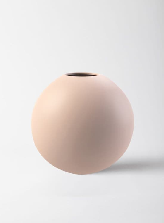 Cooee 20 Cm Dusty Pink Ball Vase