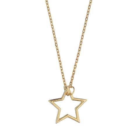 Estella Bartlett  Open Star Charm Necklace