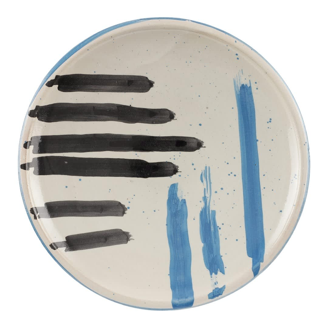 Kam Design IV Hand Painted Ceramic Plate