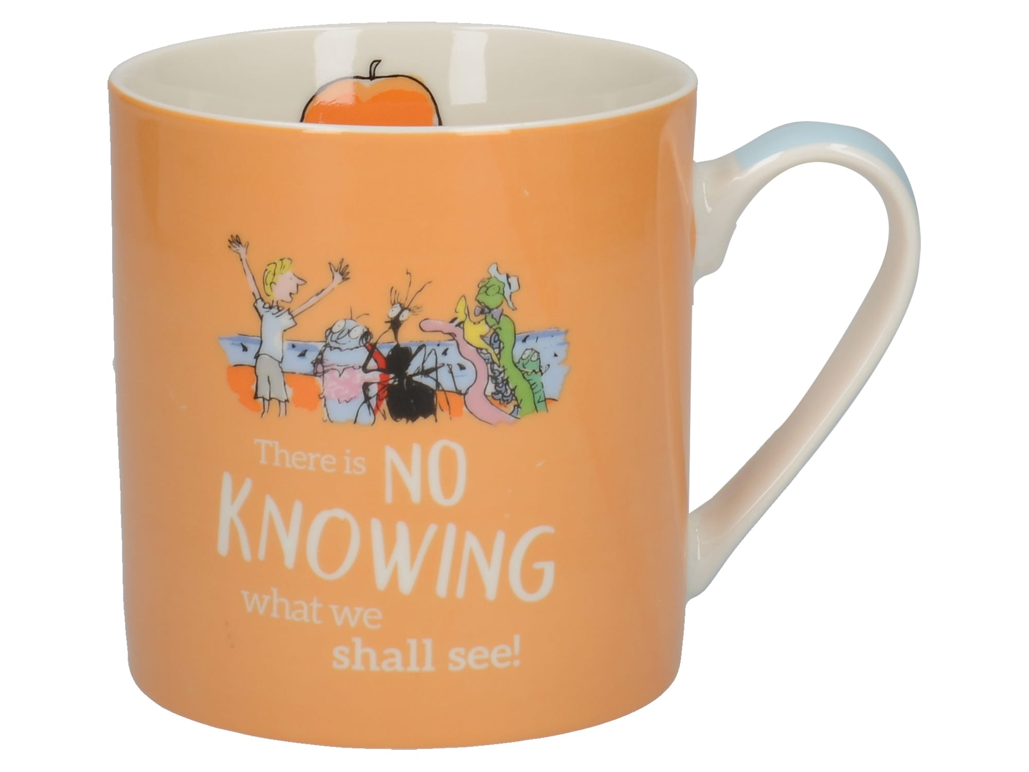 Creative tops James Giant Peach Can Mug