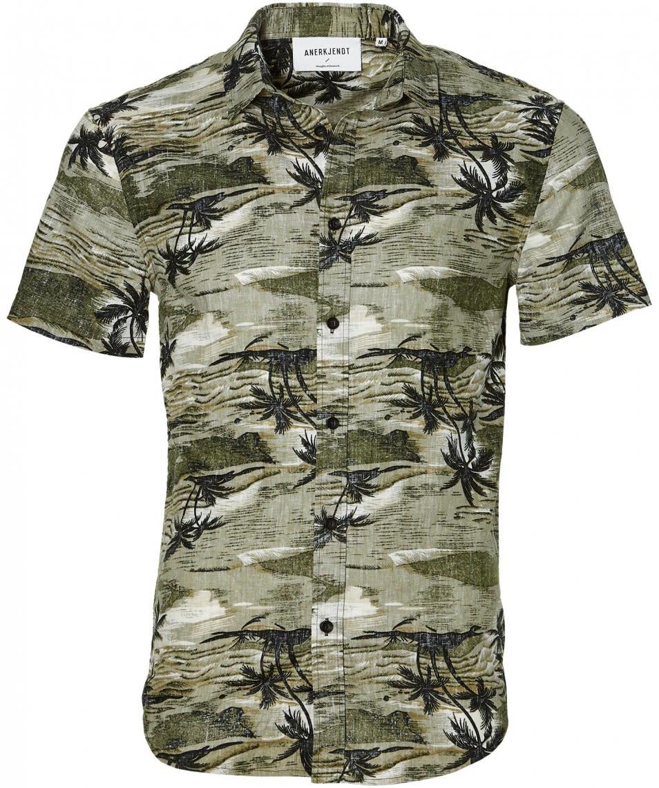 Deep Lichen Edge Shirt