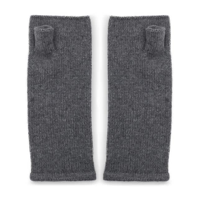 Somerville Scarves Plain Cashmere Wrist Warmers