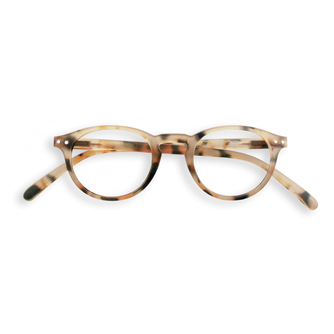 IZIPIZI Reading Glasses in Light Tortoise (Frame Shape: #A)