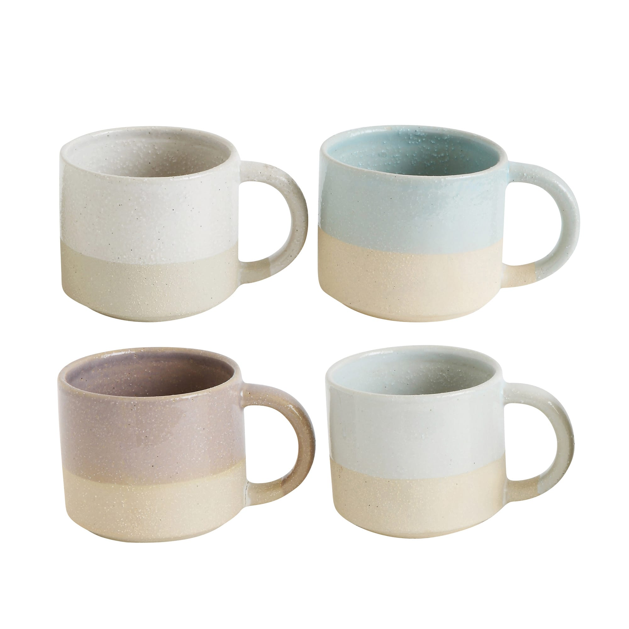 Bloomingville Fluer Glazed Mugs