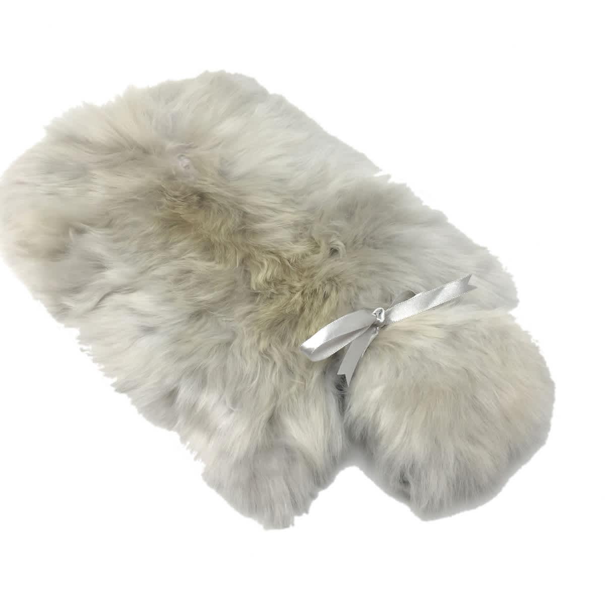 Samantha Holmes Alpaca Fur Hot Water Bottle