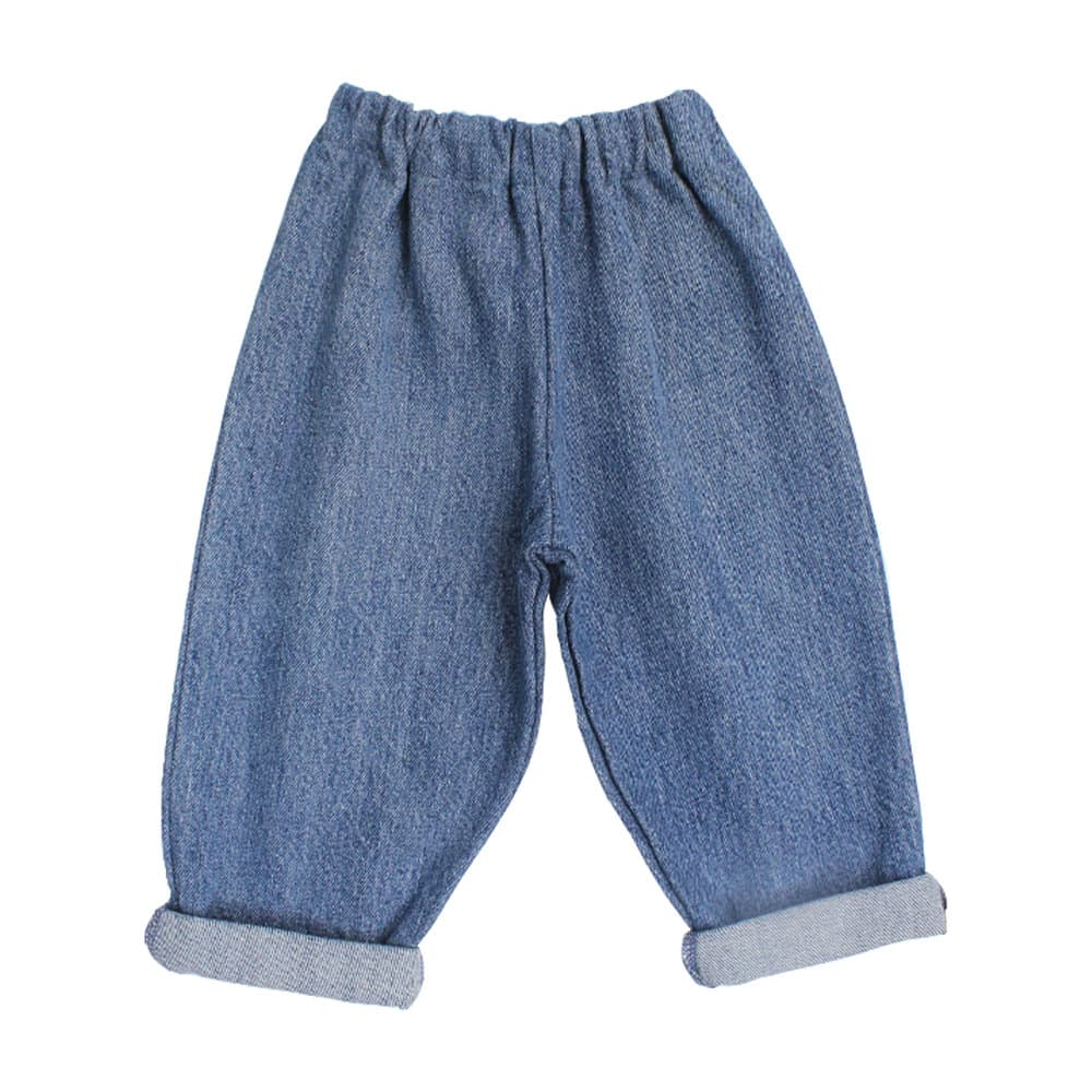 Pippins Childrenswear  Blue Medium Recycled Denim Jeans