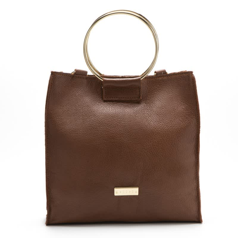 Dlirio Medium Brown Leather Bag