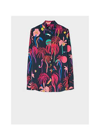 PS by Paul Smith Urban Jungle Print Shirt