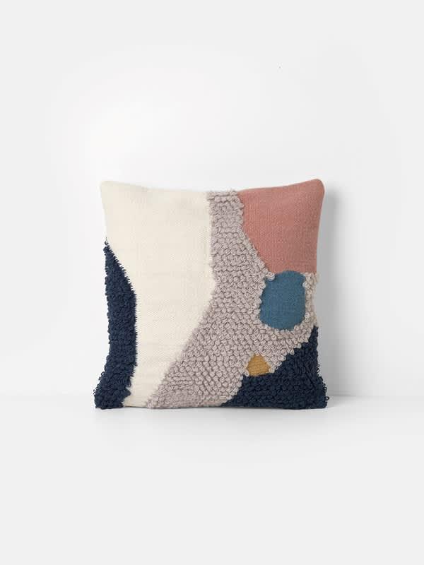 Ferm Living Loop Cushion Landscape 50x50 cm