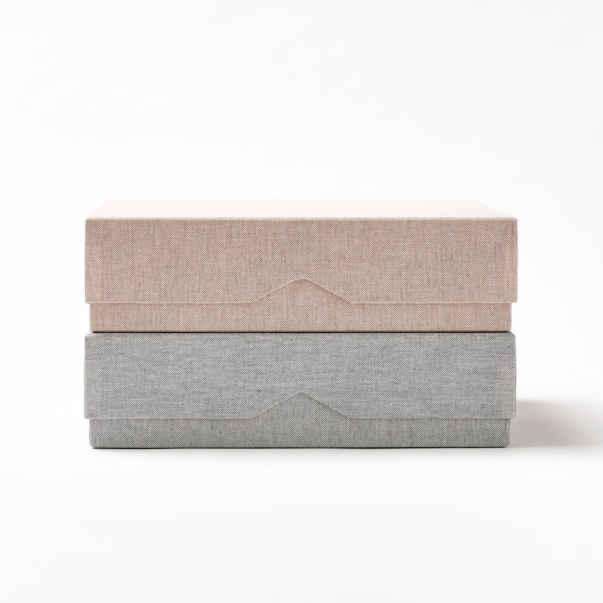 La Papeterie Française Large Cotton Woven Box