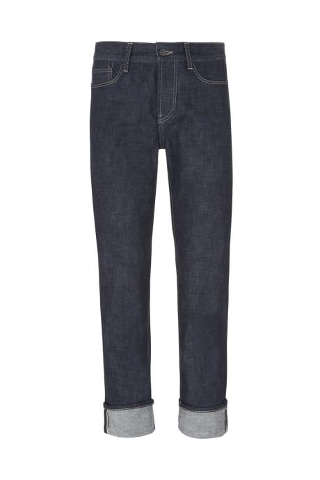 Jeans En Coton Noir Aubrey Roi Et Tuckfield abUgSB8