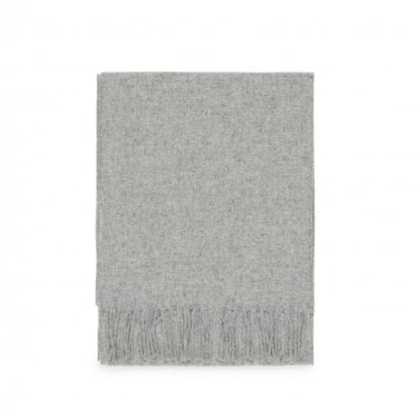 cef4510c384 Trouva  Norse Projects Sigurd Scarf (Light Grey Melange)