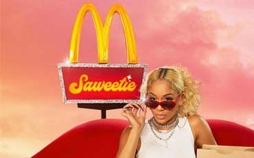 The Saweetie Meal | McDonald's