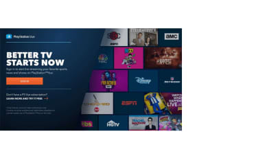 Live TV Elevated | PlayStation Vue