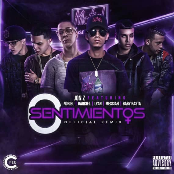 0 Sentimentos (Remix) [feat. Noriel, Darkiel, Lyan, Messiah & Baby Rasta]