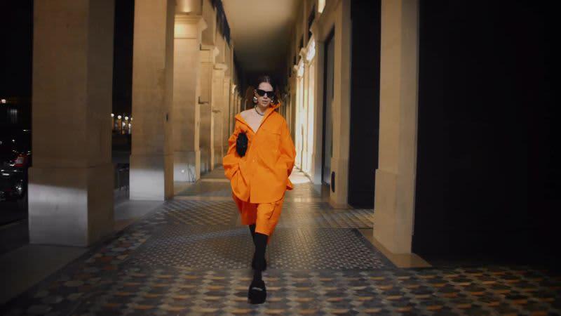 "New Balenciaga ad features ""Sunglasses at Night"""