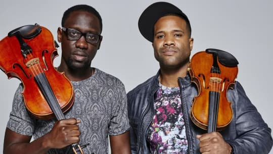 Black Violin featured on CBS This Morning