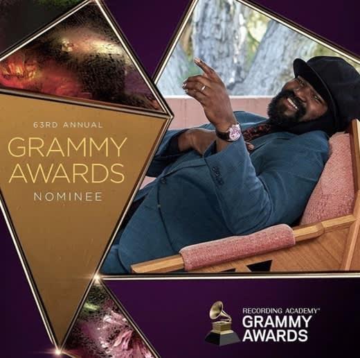Gregory Porter nominated for Best R&B Album Grammy Awards