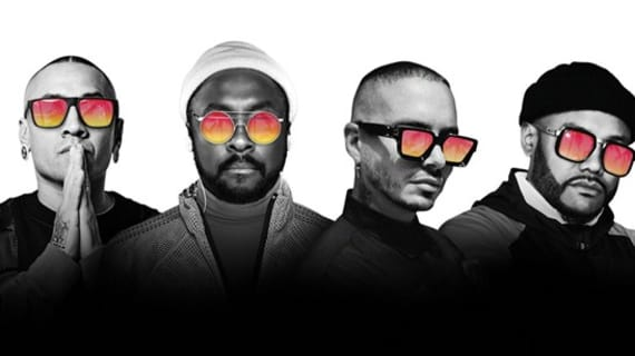 "The Black Eyed Peas hit #1 on the Billboard Hot Latin Songs chart with ""RITMO"""