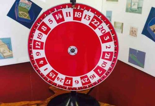 "Wheel of Fortune 24"" Carnival Game"