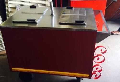 Dry Ice Ice Cream Cart