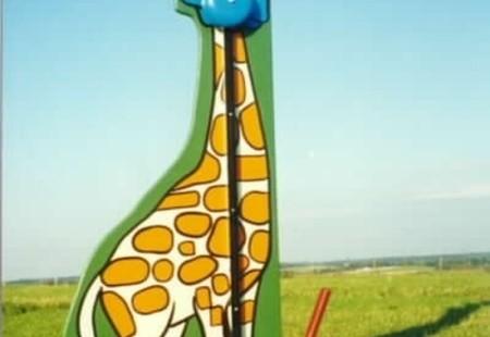 Kiddie Hi-Striker - Giraffe