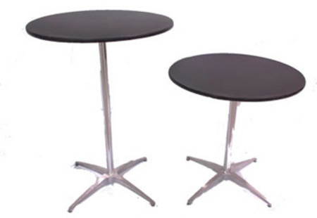 "Cocktail or Bistro Table - 30"" rnd x 42"" high"