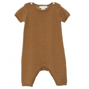 Jumpsuit Baby Cumin 100% Organic Cotton 1M to 24M