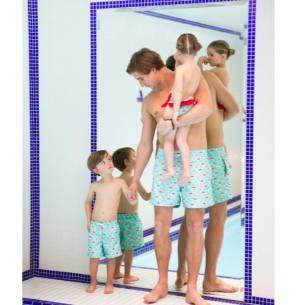 Shorts de bain - Homme – Flamant-Rose, Homard, Perroquet -  Tailles S à XL disponibles