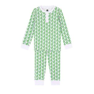 Pyjama Dodi Green monkey pattern