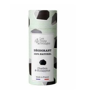 Charcoal & Eucalyptus natural deodorant vegan PS