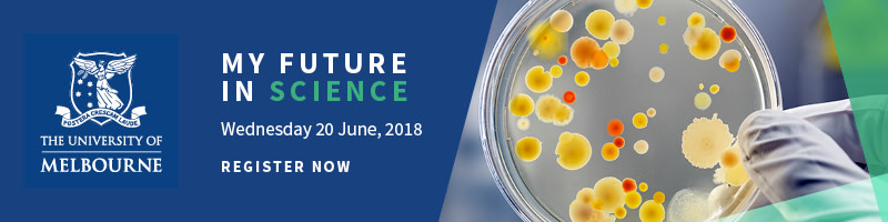 My Melbourne Future Course Information Evening: Science
