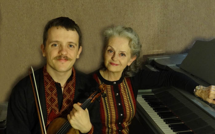 Postcards from Eastern Europe: Markiyan and Oksana Melnychenko in Recital