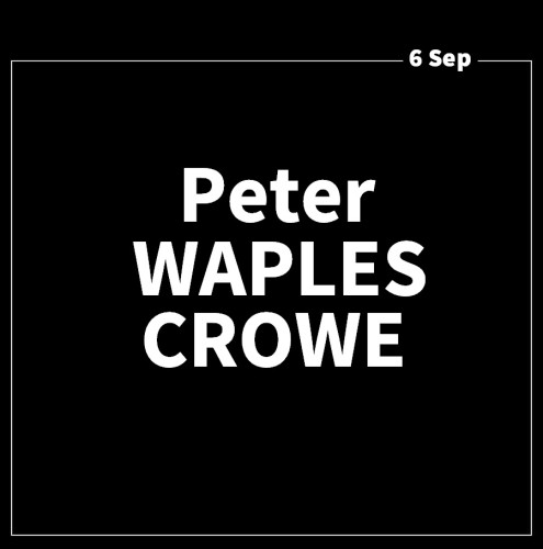 Art Forum with Peter Waples Crowe
