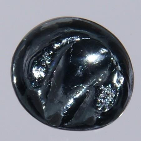An osmium bead. Picture: Jurii. Wikipedia via Creative Commons