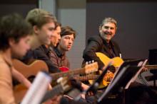 Guitar Ensemble at Melba Hall
