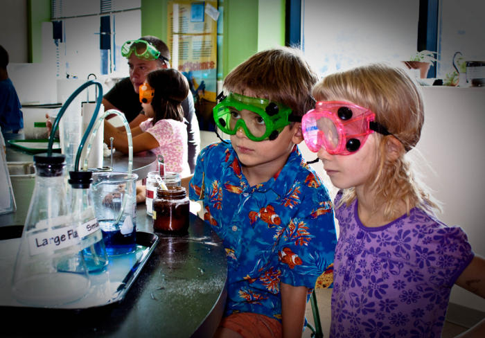 Instilling a passion for science and maths needs to start early, in the primary years. Picture: Flickr