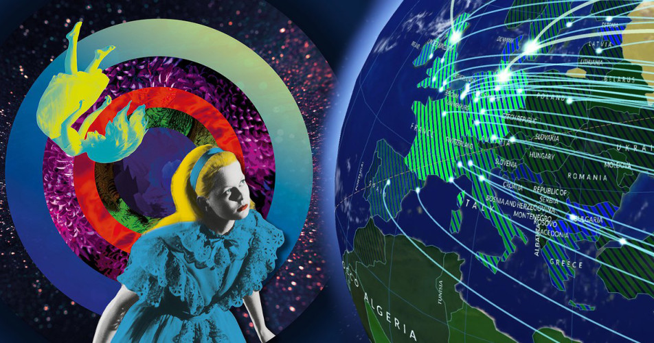 Alice Around the World: Political Geography of Creative Content Mobility