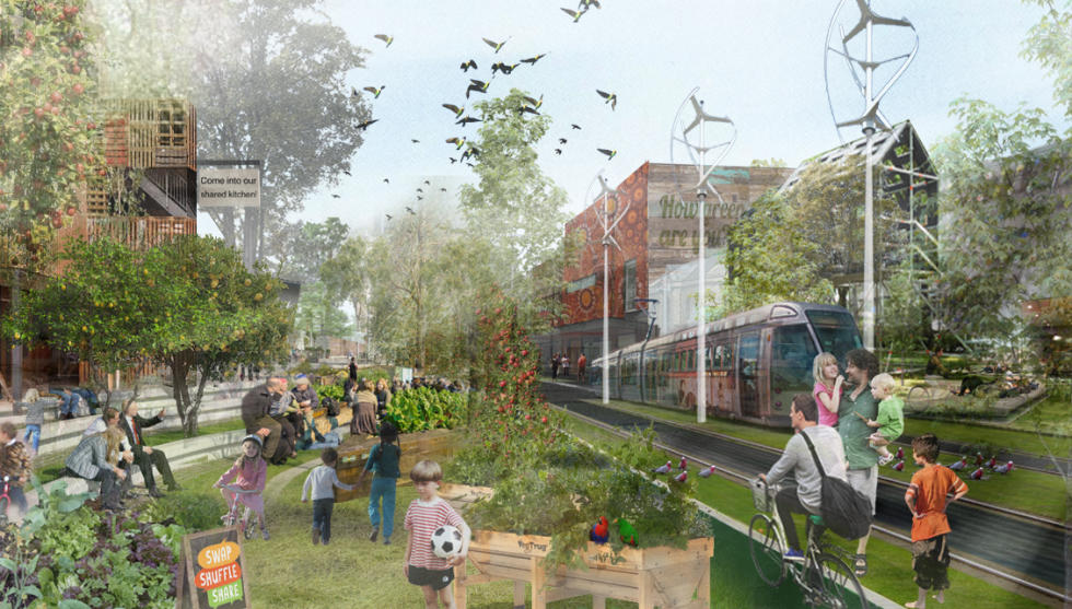 Changes to urban lifestyles like more active transport and switching to electric cars will have an impact. Picture: Amy Bracks/VEIL 2015