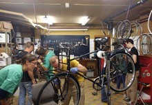 Community bike workshops: their contribution to justice, sustainable urban transport and the social economy