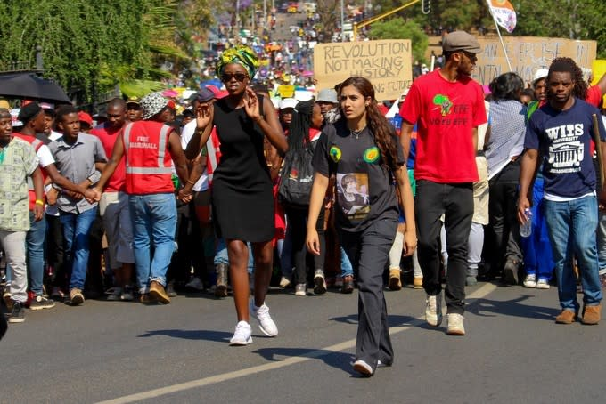 #Feesmustfall and the Advancement of Social Justice in South Africa's Public Universities