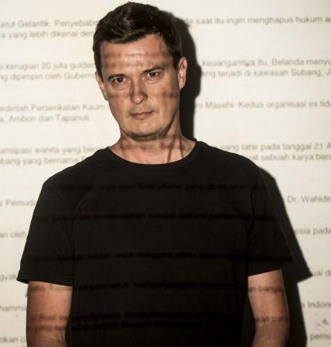 "Artist Floor Talk: Tom Nicholson - ""I was born in Indonesia"""