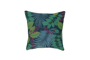Jungle Shade Blue Cushion