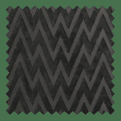 Zigzag Velvet Charcoal