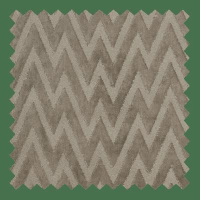Zigzag Velvet Taupe