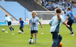 Fulfil your son / daughter's dream and see them play on the pitch in front of thousands at the Ricoh!