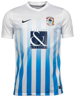 2016/17 Sky Blues signed shirt