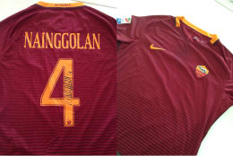 CHANCE TO WIN: SIGNED NAINGGOLAN'S A.S. ROMA JERSEY WORN DURING ROMA-UDINESE (4-0)