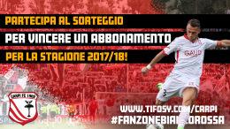 *SORTEGGIO* ABBONAMENTO STAGIONE 2017/18